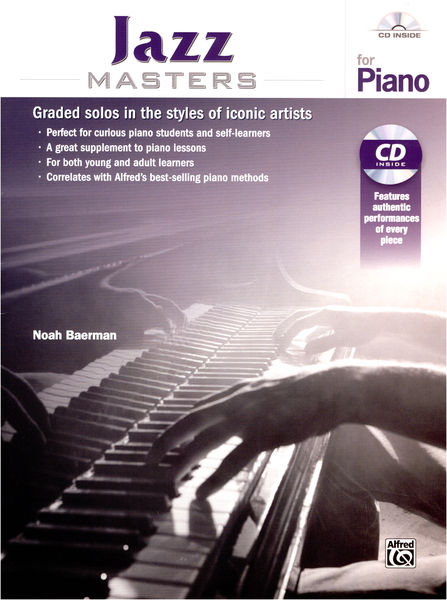 Alfred Music Publishing Jazz Masters for Piano