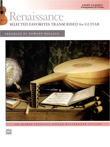 Alfred Music Publishing Renaissasance For Guitar