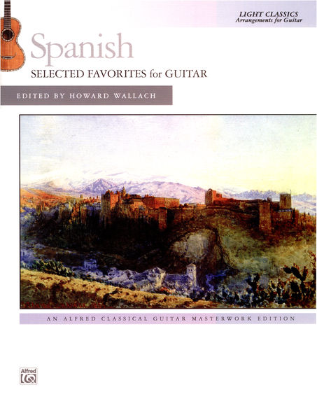 Alfred Music Publishing Spanish Favorites for Guitar