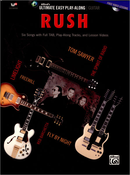 Alfred Music Publishing Easy Guitar Play Along: Rush