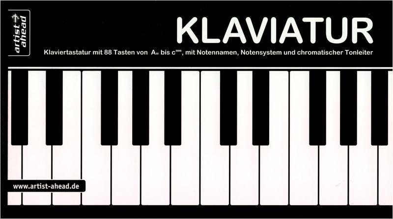 Artist Ahead Musikverlag Klaviatur