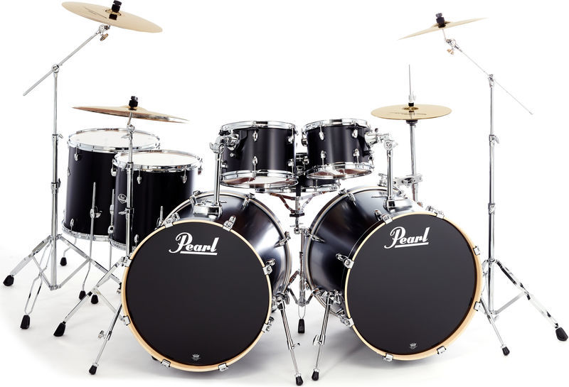 Pearl Export Double Bass Bundle -BK