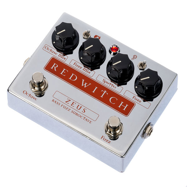 Red Witch Zeus Bass Fuzz Suboctave