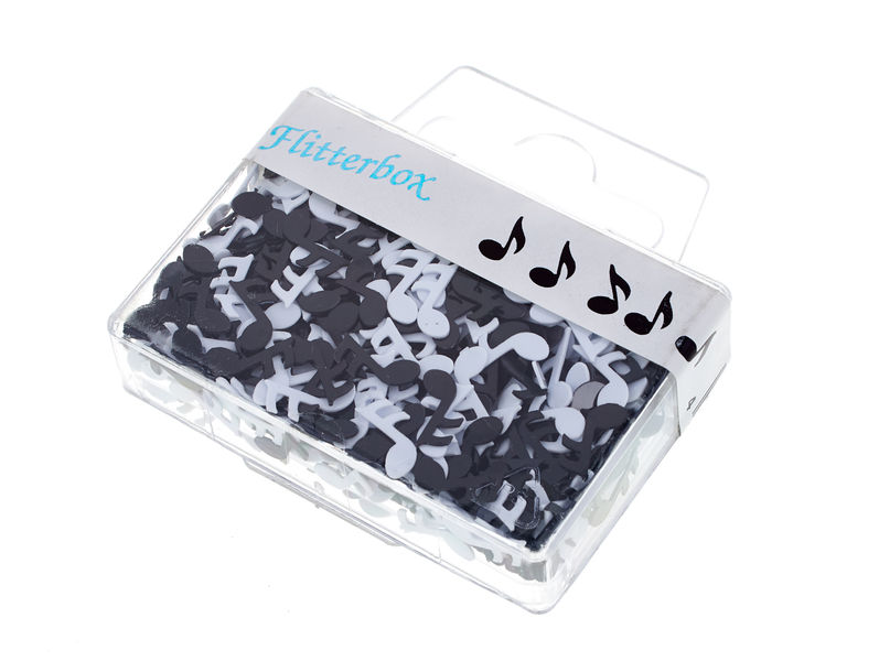Musikboutique Hahn Note Confetti Black/White