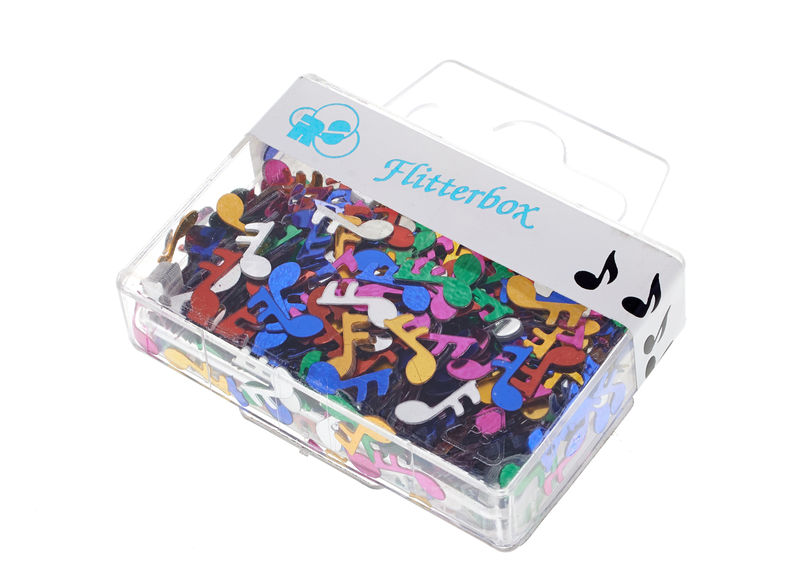 Musikboutique Hahn Note Confetti Color