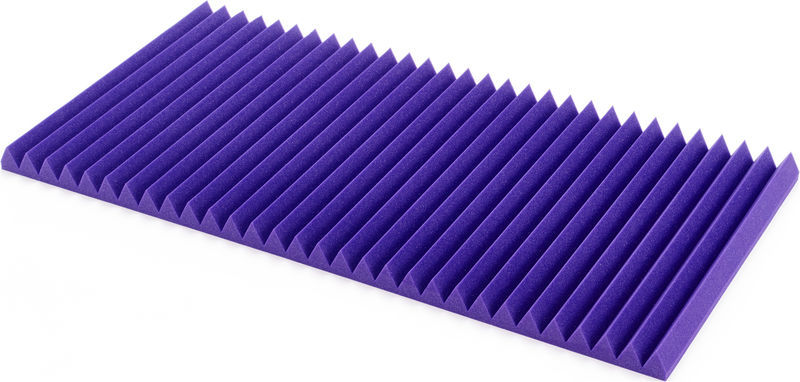 "Auralex Acoustics 2"" Wedges 60x120 Purple"