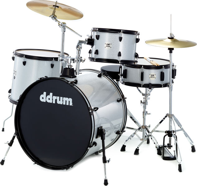 DDrum D2 Rock Starter Set Silver