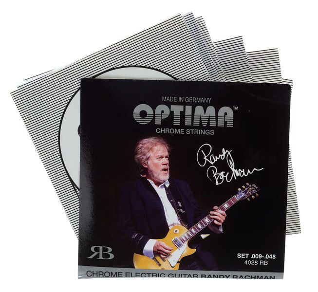 Optima 4028RB Chrome Strings