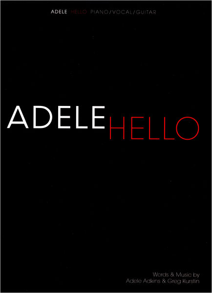 Wise Publications Adele: Hello