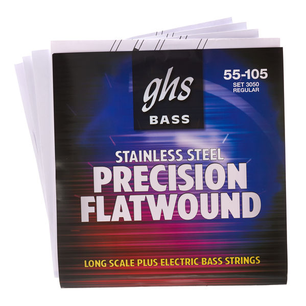 GHS PrecFlatwound 055-105