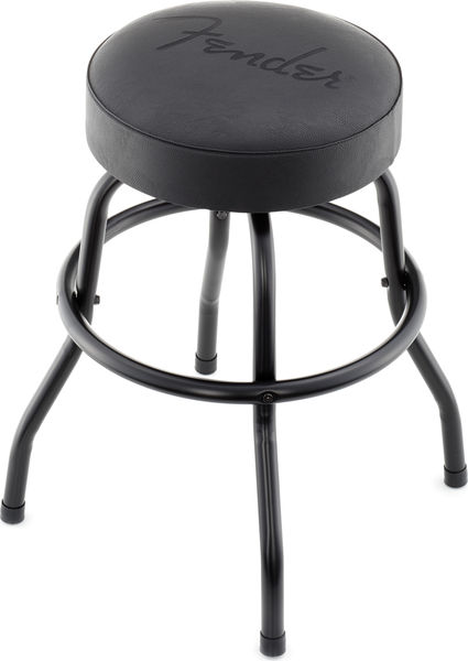 Terrific Fender Black Barstool Logo 24 Camellatalisay Diy Chair Ideas Camellatalisaycom