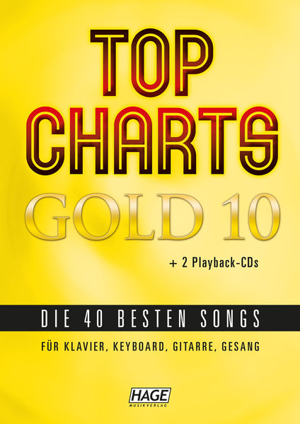 Top Charts Gold 10 Hage Musikverlag