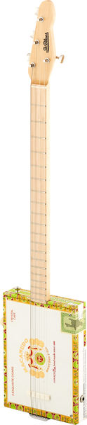 St.Blues Cigar Box Guitar 4 STD