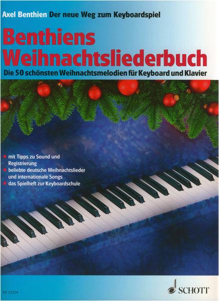 Schott Benthiens Weihnachtsliederbuch