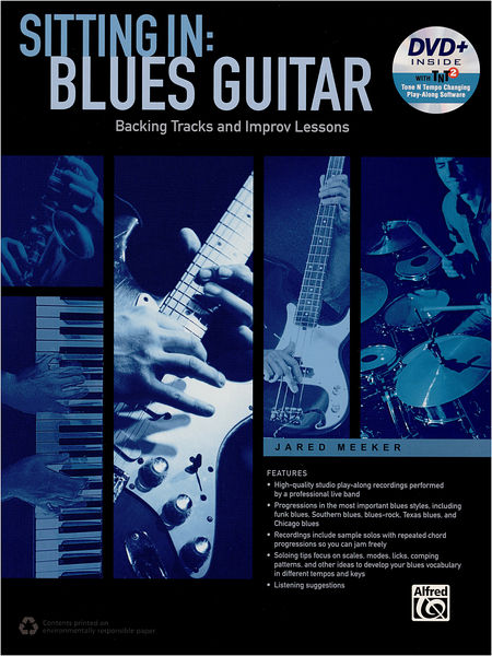 Alfred Music Publishing Sitting In: Blues Guitar