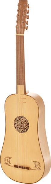 Thomann Baroque Guitar 5-C De Luxe