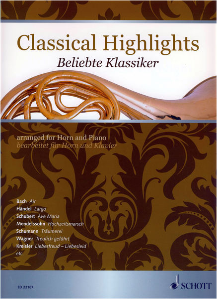 Schott Classical Highlights Horn