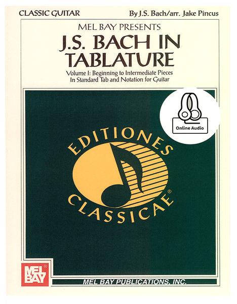 Mel Bay J.S. Bach In Tabulature