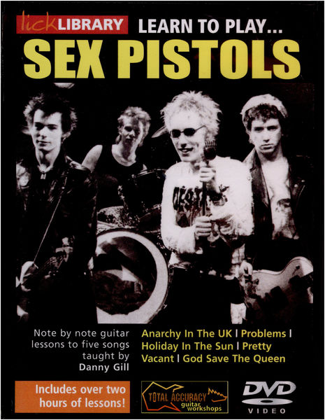 Music Sales Learn to Play Sex Pistols