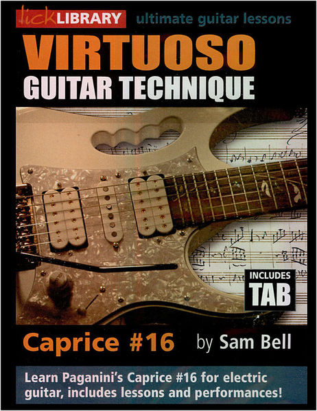 Music Sales Virtuoso Guitar Technique