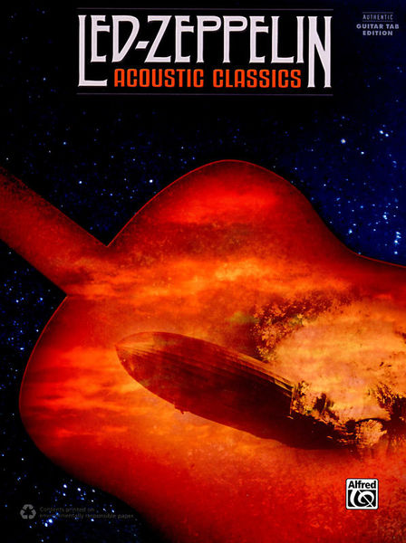 Led Zeppelin Acoustic Classics Alfred Music Publishing
