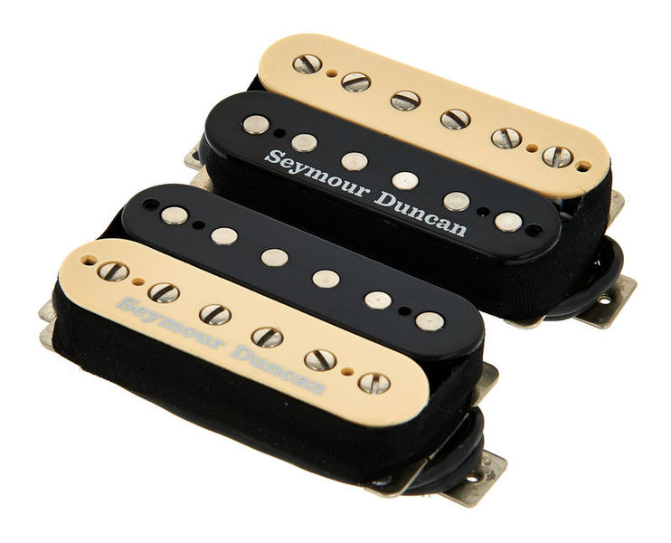 Seymour Duncan Pearly Gates Set Zebra