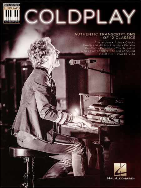Hal Leonard Coldplay: Authentic Transcript