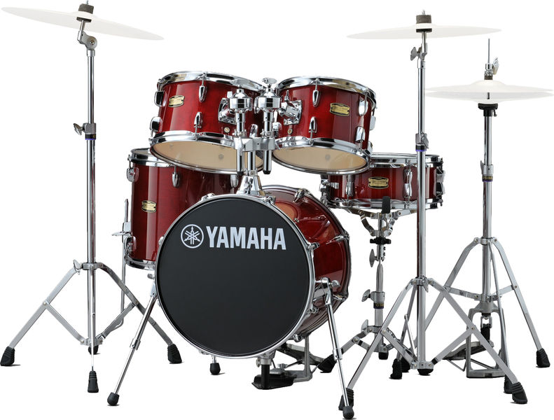 Yamaha Junior Kit Manu Katché Red
