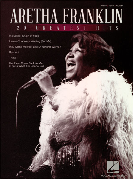 Hal Leonard Aretha Franklin: 20 Greatest