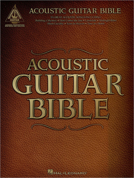 Hal Leonard Acoustic Guitar Bible – Thomann UK