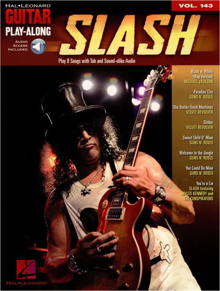 Hal Leonard Guitar Play-Along Slash