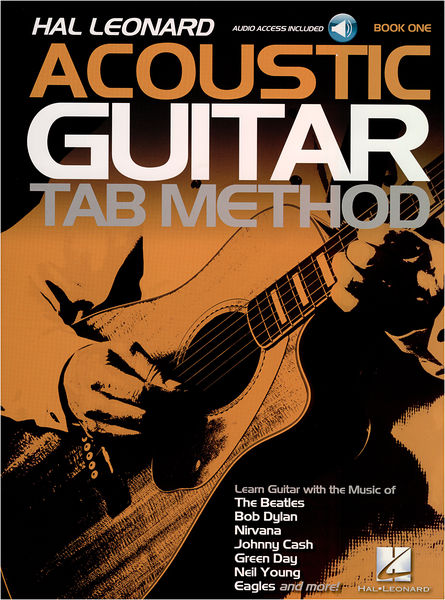 Hal Leonard Acoustic Guitar Tab Method