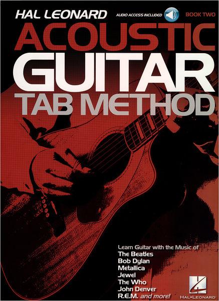Hal Leonard Acoustic Guitar Tab Method 2