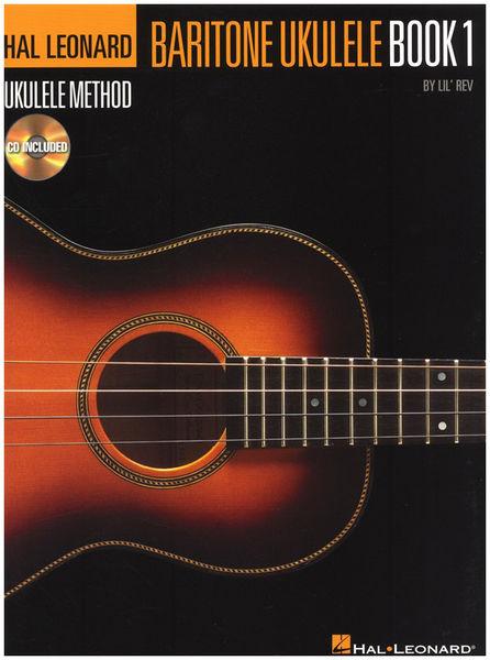 Hal Leonard Baritone Ukulele Method Book 1