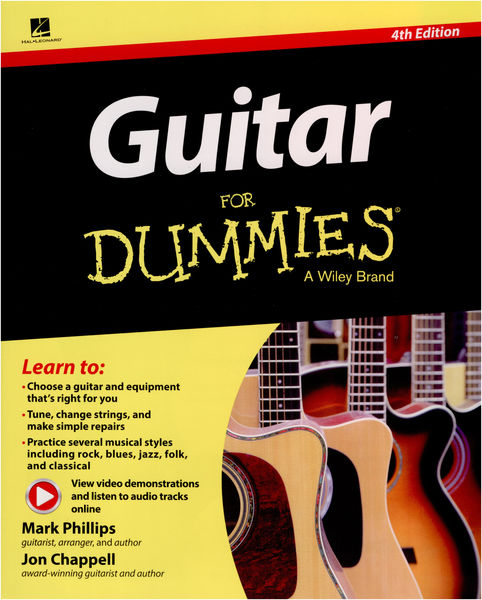Hal Leonard Guitar For Dummies - 4th Ed.