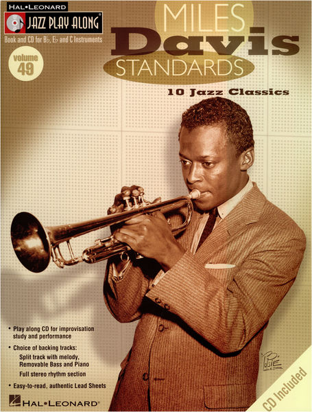 Hal Leonard Jazz Play-Along: Miles Davis