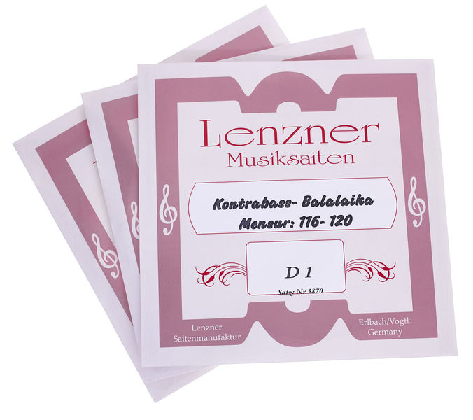 Lenzner 3870 Double Bass Balalaika Str