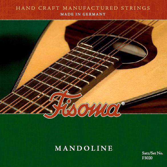 Fisoma F3020D Mandolin Strings 80/20