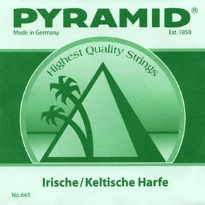 Pyramid Irish / Celtic Harp String h2