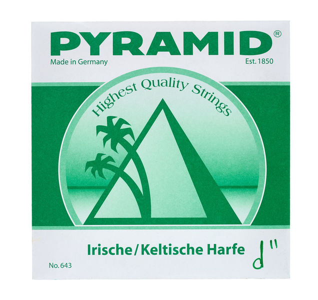 Pyramid Irish / Celtic Harp String d2