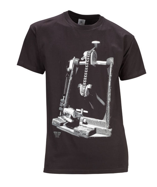 Rock You T-Shirt Drum Machine L