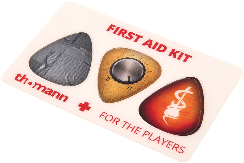 Thomann First Aid Pickcard Glossy