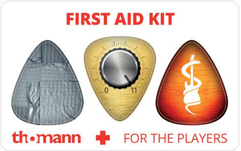 Thomann First Aid Pickcard Satin