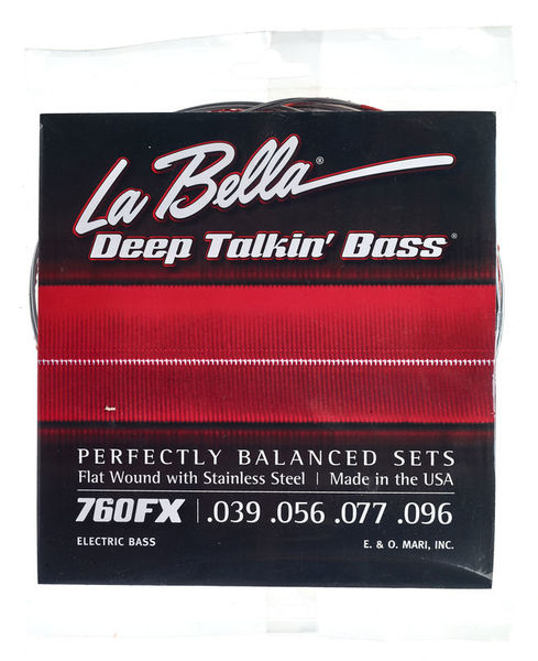 La Bella 760FX Flatwound String Set
