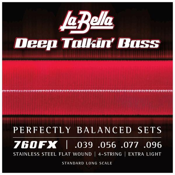 La Bella 760FX Flatwound String Set