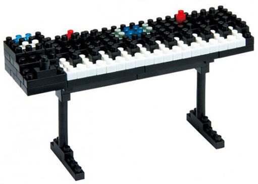Music Sales Nanoblock: Synthesizer