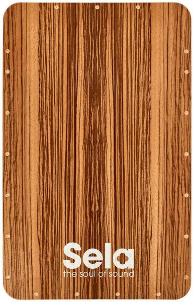 Sela SE 016 Cajon Front Plate Zebra