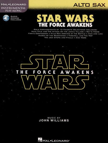 Hal Leonard Star Wars Force Awakens A.Sax.
