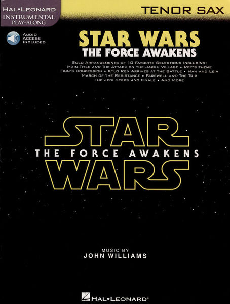 Hal Leonard Star Wars Force Awakens T.Sax.