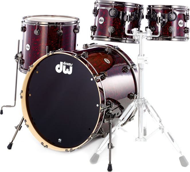DW Finish Ply Set Red Velvet BK